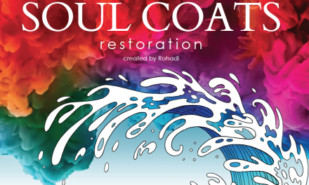 Soul Coats: Restoration – Adult Coloring Book with Bible Scenes & Scriptures