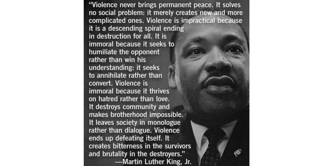 the racism & violence in us all and why black lives matter TOO