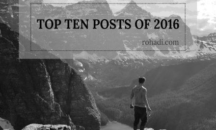 My Top Ten Posts of 2016