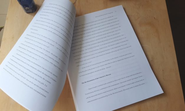 Adventures to Save a Dying Church – Manuscript Done