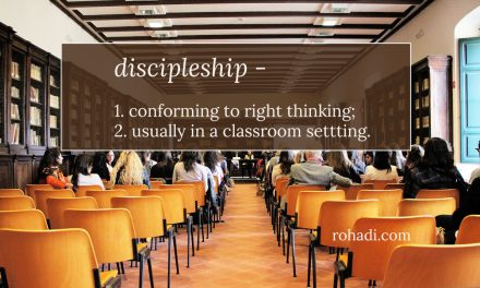 Discipleship isn't conformity