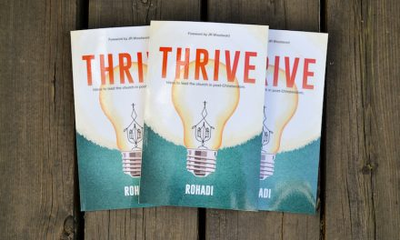 "My second book, ""Thrive"" hits the shelves"